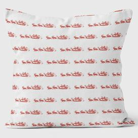image-Christmas Miniature Santas Cushion We Love Cushions