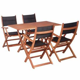 image-Bartz 4 Seater Dining Set Sol 72 Outdoor