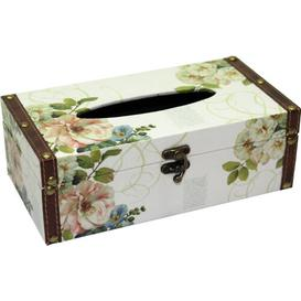 image-Tissue Box Cover Three Posts