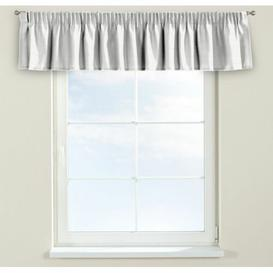 image-Jupiter Curtain Pelmet Dekoria Size: 260cm W x 40cm L, Colour: White