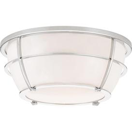 image-QZ/CHANCE/FPC Chance 2 Light Bathroom Flush Ceiling Light In Polished Chrome