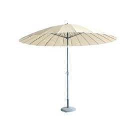 image-LeisureGrow Mikado 2.5m Garden Parasol - Beige