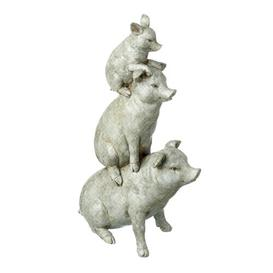 image-Piggy Stack Deasia Figurine August Grove