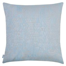 image-Moskell Scatter Cushion Mercury Row Colour: Smoke blue/Taupe, Size: 46 x 46cm