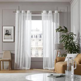 image-Hedges Eyelet Sheer Single Curtain Madura