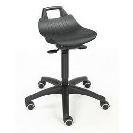 image-Height-adjustable office stool Symple Stuff
