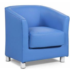 image-Brian Tub Chair Metro Lane Upholstery Colour: Blue