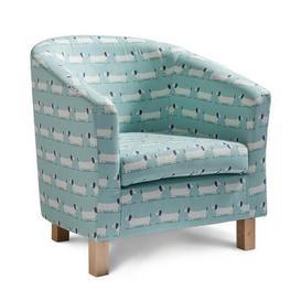 image-Hound Tub Chair Duck egg