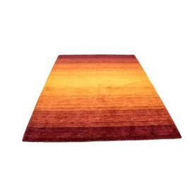 image-Tennyson Handwoven Wool Orange Indoor/Outdoor Rug Ebern Designs