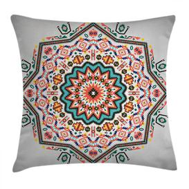 image-Keeva Tribal Sun Aztec Outdoor Cushion Cover Ebern Designs Size: 60cm H x 60cm W