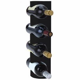image-Windsor 4 Bottle Wall Mounted Wine Rack Metro Lane