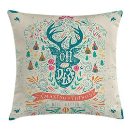 image-Broadbridge Inspirational Ornaments Outdoor Cushion Cover Ebern Designs Size: 45cm H x 45cm W