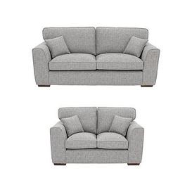 image-Rio 3-Seater + 2-Seater Standard Back Fabric Sofa Set (Buy And Save!)