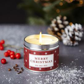 image-Merry Christmas Scented Jar Candle The Country Candle Company