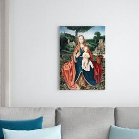 image-The Virgin and Child in a Landscape by Jan Provoost Framed Art Print