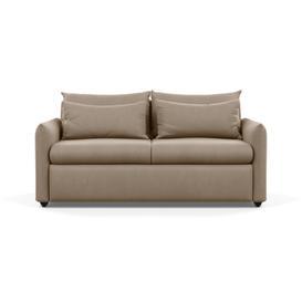 image-Heal's Pillow Sofa Bed Smart Velvet Dove Black Feet