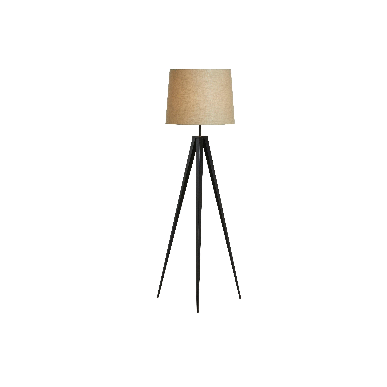 image-Eiffel Tripod Floor Lamp, Beige