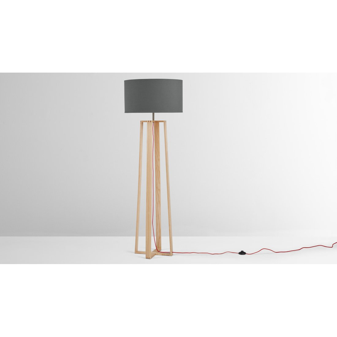 image-Asher Large Wooden Floor Lamp, Natural