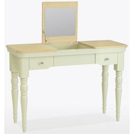 image-TCH Cromwell Dressing Table with Mirror - Oak and Painted