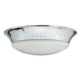 image-BATH/WHITBY/F Whitby LED Polished Chrome Flush Mounted Bathroom Light