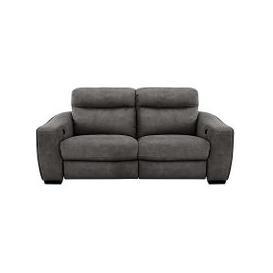 image-Cressida 3 Seater Fabric Recliner Sofa