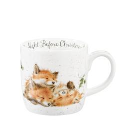 image-Wrendale Designs The Night Before Christmas Bone China Mug Royal Worcester