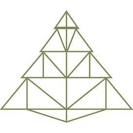 image-Christmas Tree Decorative Accent Fj├╕rde & Co Finish: Gold