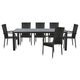 image-Mcauliffe 6 Seater Dining Set Dakota Fields