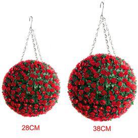 image-Artificial Flowering Topiary
