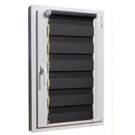 image-Blackout Roman Blind Symple Stuff Size: 160cm L x 110cm W, Colour: Grey