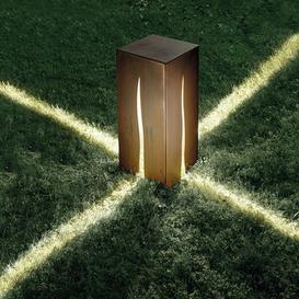 image-Granito Floor lamp - H 60 cm - Outdoor by Artemide Brown