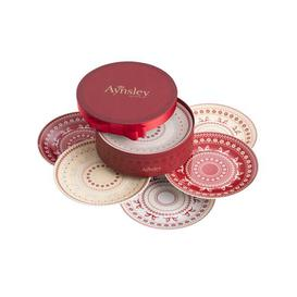 image-Fairisle 6 Piece Decorative Plate Set Aynsley China