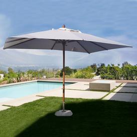 image-Ching 3m x 4m Rectangular Traditional Parasol