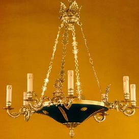 image-Dahlke 9-Light Candle-Style Chandelier Astoria Grand Finish: Antique Silver