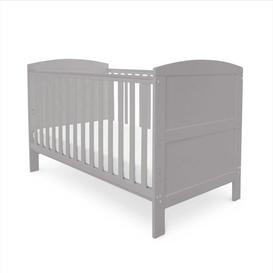 image-Coleby Cot Bed Inc. Sprung  Mattress - Grey