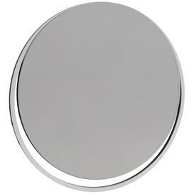 image-Regents Polished Chrome Frame Round Wall Mirror