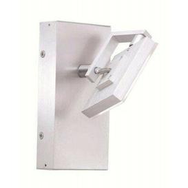 image-Isabela Swing Arm Wall Light Metro Lane Finish: Matt aluminium and chrome