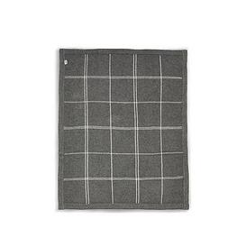 image-Mamas & Papas Knitted Blanket - Grey Check
