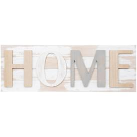image-White, grey and beige wall art 80x28cm