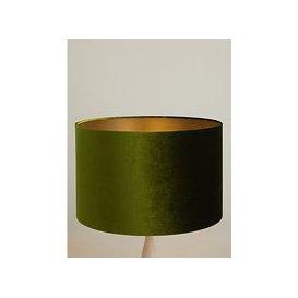 image-John Lewis & Partners Jenny Velvet Cylinder Lampshade