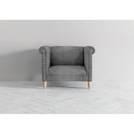 image-Simon Loveseat in Cloudy Grey