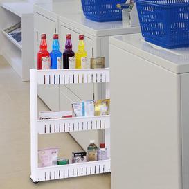 image-Frausto 54Cm W x 72.5Cm H x 13Cm D Free-Standing Bathroom Shelves