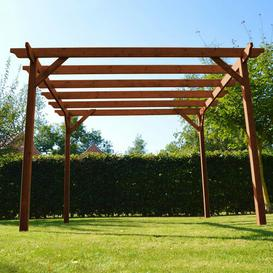 image-Pollitt Manufactured Wood Pergola Sol 72 Outdoor