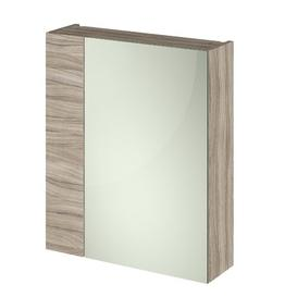 image-Maddalena 60cm x 71.5cm Surface Mount Mirror Cabinet Belfry Bathroom Finish: Driftwood