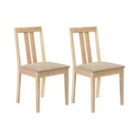 image-Brookvale Solid Wood Dining Chair August Grove Upholstery Colour: Natural, Leg Colour: Natural