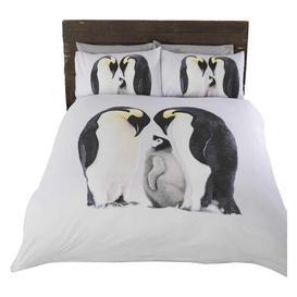 image-Vivan 132 TC Duvet Cover Set Happy Larry Size: Double