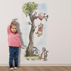 image-Disney Winnie The Pooh Height Chart Sticker MultiColoured