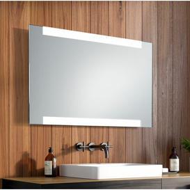 image-Theodore LED Illuminated Bathroom Mirror Wade Logan Size: 60cm H x 80cm W x 3.2cm D