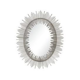 image-Orlando Silver Sunburst Mirror - 86cm x 107cm