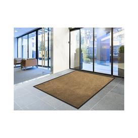 image-Perryville Safety Doormat Symple Stuff Mat Size: 1.3cm H x 135cm W x 300cm L, Colour: Brown